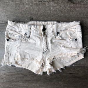 Ripped Jean Shorts from Bullhead